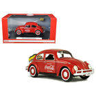 1966 Volkswagen Beetle Coca Cola with Rear Luggage Rack and Two Bottle Cases 1 2