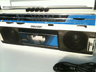 Sharp QT-242H Radio Cassette-Recorder/Player Boombox Kassetten Rekorder White
