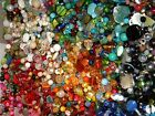NEW 8 oz Multi colored MIXED LOOSE BEADS LOT Gemstone Glass NO JUNK mx8