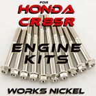ENGINE Bolt Kit for Honda CR85R | Buy Works Nickel plated and SAVE BIG $$$