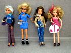 LIV Dolls Lot of 4 Dressed Clothes Shoes Spin Master  1