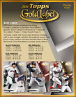 2018 Topps Gold Label Baseball Hobby Box (Sealed)