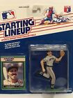 1989 Starting lineup Luis Salazar Baseball figure Card Detroit Tigers toy MLB