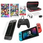 Nintendo Switch with Neon Joy Cons All in one Bundle