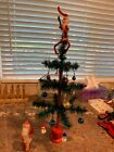 Holiday Tree made from Goose Feathers from Carlsons Christmas Collectibles
