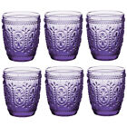 Middle East Style Water Glass Juice Glass Cap for 10 Oz Set of 6