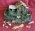 FONTANINI Animal Corral 50244 for 5 Heirloom Nativity 12 Pieces EUC