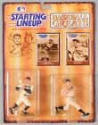 Starting Lineup Baseball Greats Ruth Gehrig Figures 1989 NEW RARE White Uniforms