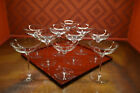 Waterford Crystal Elegance Champagne Belle Coupe Glasses Set of 10 Pristine