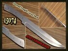 1425CUSTOM MADE D 2 STEEL HUNTING BLANK BLADE KNIFE FOR MAKING SUPPLIES 15074