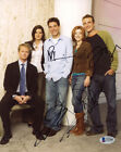 HOW I MET YOUR MOTHER HIMYM CAST SIGNED AUTOGRAPHED BY 5 8x10 PHOTO BECKETT BAS