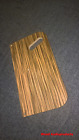 Armboard for Thorens TD124 SME 12 inches zebrawood covered with high quality oil