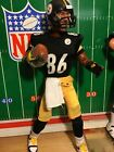 """Starting Lineup 12""""Custom All Pro WR Pittsburgh Steelers Hines Ward Figure"""