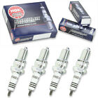 4pcs 1993 Moto Guzzi DAYTONA NGK Iridium IX Spark Plugs 1000 Kit Set Engine oq