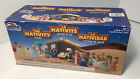 Nativity Playset for Children 19 Pieces by BibleToys Includes Mary Joseph