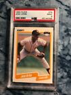 Jose Uribe Birth ERROR PSA GRADED MINT 9 RARE ICONIC CARD GO GRADED