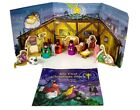 VTG Avon Kids My First Christmas Story 1993 Nativity Collection 8 Piece W Book