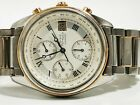 Very Rare Watch Stahl/Gold 18k Girard Perregaux GP 4900 Automatik Chronograph