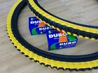 26x195 Black  Yellow Bicycle Knobby Tires and Tubes Mountain Bike 26 NEW