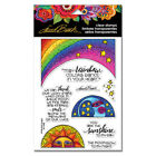 Stampendous Laurel Burch Cling Stamp Rainbow Moon
