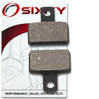 Rear Organic Brake Pads 2005 Gas Gas Enducross EC Boy 50 Set Full Kit Air vq
