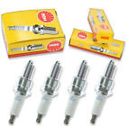 4pcs 06-11 Big Dog K-9 NGK Standard Spark Plugs S&S ENGINE 107 CU IN Kit Set cf