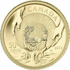 Canada 2012 Cariboo Gold Rush Panning 50 Cents 1/25 Oz Pure Gold Proof FULL OGP