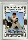 WHITEY FORD 2011 LEAF LEGENDS OF THE SPORT AUTHENTIC CERTIFIED AUTOGRAPH# 31