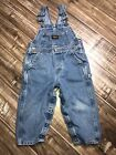 OshKosh B Gosh Kids Baby Toddler 3 3T Vestbak Overalls Denim Jean Blue