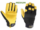 Wells Lamont Mens Hydrahyde Leather Work Gloves One Pair Size M L Xl New