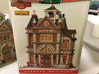 2012 Lemax Lighted Christmas Village Coventry Cove Firehouse