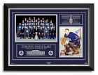 Johnny Bower Signed Toronto Maple Leafs 1967 Stanley Cup Archival Etched Glass™