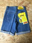 Wrangler Denim Shorts Vintage Deadstock Brand New With Tags 26 Inch Waist
