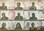 Complete BATTLESTAR GALACTICA CW1 CW9 Colonial Warriors Set of 9 Cards