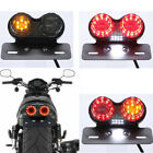 Universal Motorcycle Tail Light LED Rear Brake Lamp Modification Indicator US