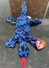 TY beanie babies LIZZY W/ FACE & TAG ERRORS! 5/1/1995. Style 4033 P.V.C. Pellets