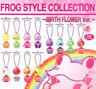 Bandai Frog Style Collection Birth Flower ver Gashapon figure Mascot set of 12