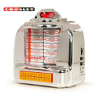 NEW Crosley CR1120A SI Diner Jukebox Tabletop Bluetooth Radio Silver
