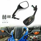 Rearview Mirrors w/ Turn Signal For Suzuki GSXR 1000 GSXR600 GSX-R 750 2006-2018
