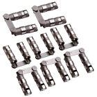 Hydraulic Roller Lifters +Link Bar Small Block for Chevy SBC 350 265 400 V8