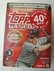 2012 Topps Update Series Blaster Box, 2 Blue Bordered Packs, New, Sealed, Trout