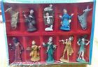 Vintage COMMODORE Christmas NATIVITY SET NEW in box ITALY lot of 12 pieces set