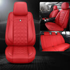 13pcs Deluxe Pu Leather Car Seat Cover Cushion Interior Protector Universal 2020
