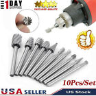 Burr Rotary Cutter Files Set Milling Cutter Engraving Bit Tools For Wood Craving