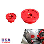 NiceCNC Crankcase Engine Plugs For Honda CRF250R CRF250L CRF230F CRF450R CRF450X