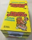 Wacky Packages 1986 Stickers Card Box 100 Packs X-out topps