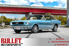 1966 Ford Mustang Mrs B 1966 Ford Mustang Blue 289ci V8 Automatic Vintage Air Power Steering