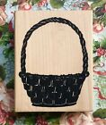 LARGE BASKET by Posh Impressions weave wicker easter gifts presents christmas