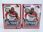 (LOT OF 2) 2014-15 PANINI THREADS BASKETBALL BLASTER BOX NBA MOSAIC OPTIC PRIZM