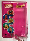 MEGO The Incredible Hulk Vintage Card Back Bubble Attached Cardback 1979